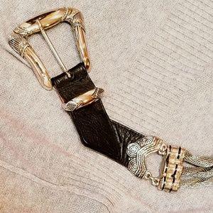 Accessories - BEAUTIFUL TWISTED METAL BELT